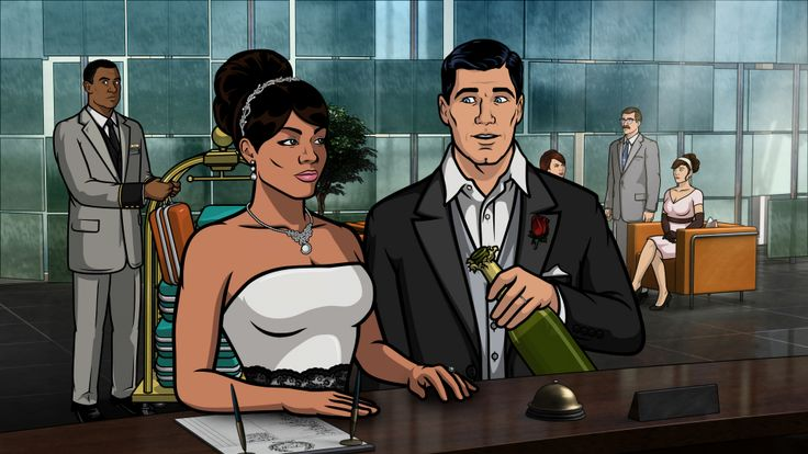Lana From Archer Cartoon | This Archer episode was actually a discarded Undercovers script, found ...