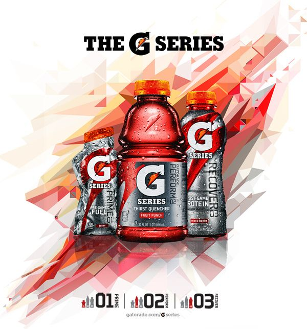 Gatorade Evoluciona & New Line 3 Series campaigns by Charis Tsevis, via Behance
