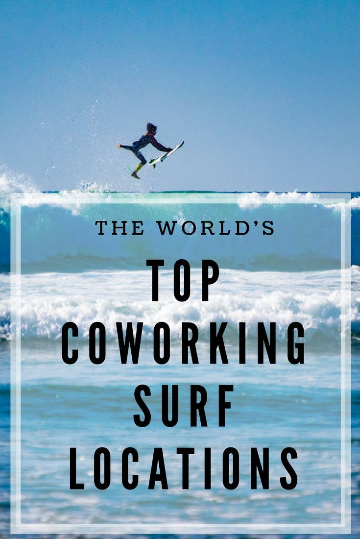 Looking for a coworking space close to great surf? Check out this article to discover the top coworking surf locations are in the world!