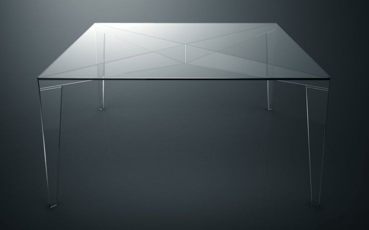 17 best images about glass tables by sacha lakic design on - Table verre roche bobois ...