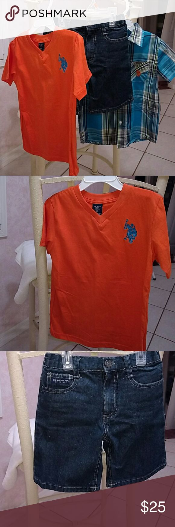 Toddler boy outfit! Brand new with the tags! Toddler boy U.S. Polo Association outfit. U.S. Polo Assn. Matching Sets