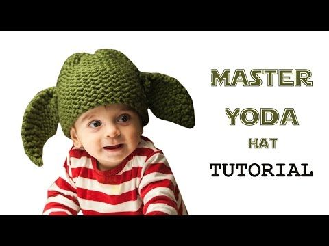 How to Loom Knit a Star Wars Master Yoda Hat (DIY Tutorial) - YouTube