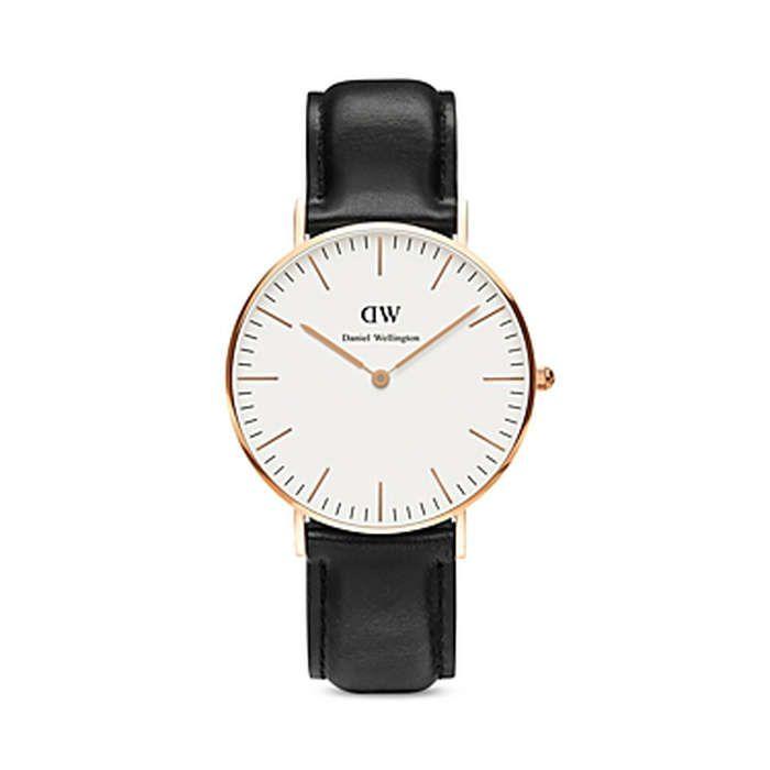 Rank & Style - Daniel Wellington Classic Sheffield Watch, 36mm #rankandstyle