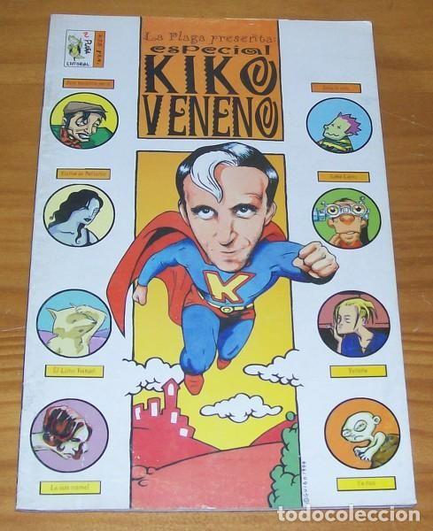 LA PLAGA, ESPECIAL KIKO VENENO. PLAGA EDITORIAL 1999. COMIC - Foto 1
