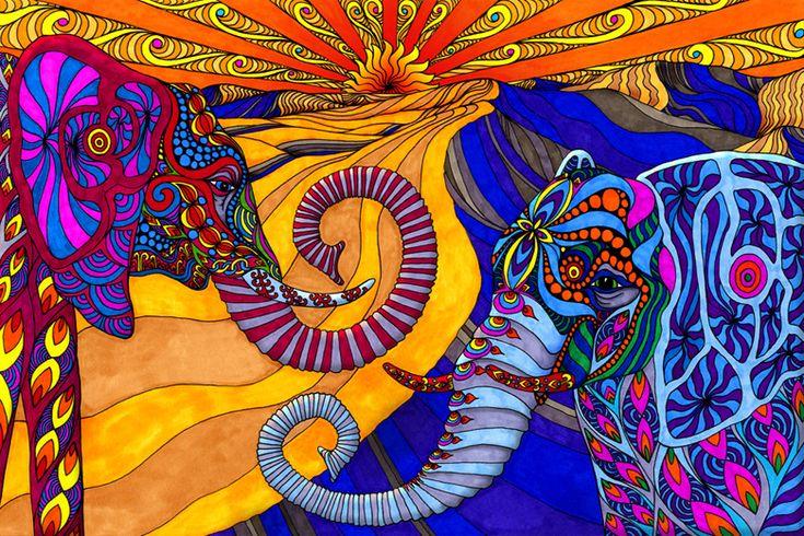 phil lewis' elephants