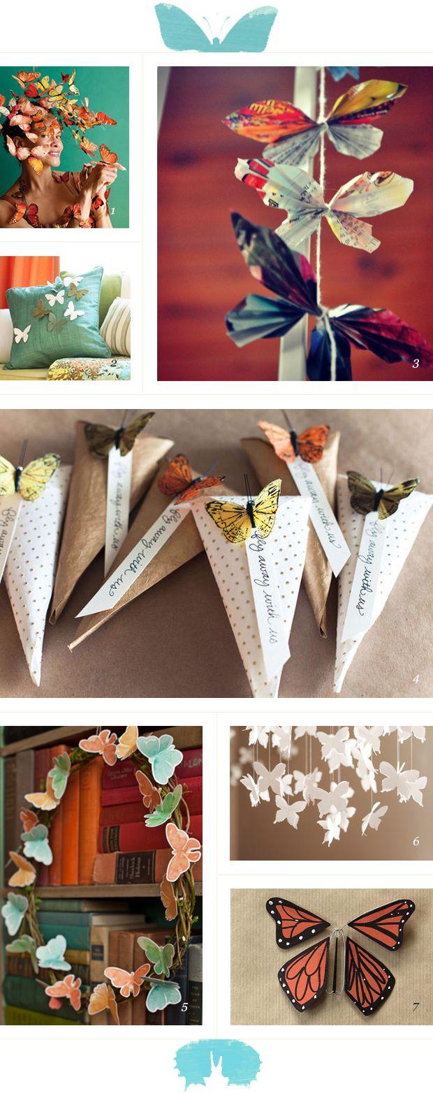 butterfly DIYs / featured on dearestnature.com