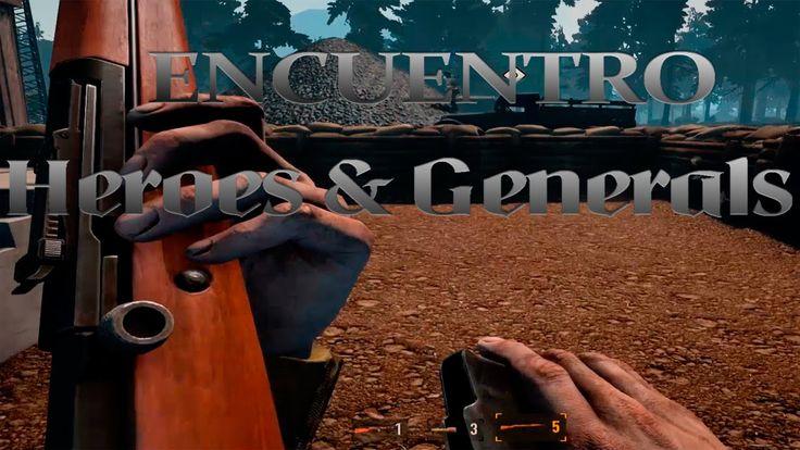Heroes & Generals Gameplay Español Mostrando las nuevas escuadras