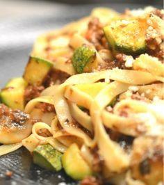 Ταλιατέλες με μοσχαρίσιο κιμά, μανιτάρια και κολοκύθια | Γιάννης Λουκάκος