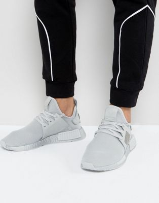 b5bddbc9d78c1 adidas Originals NMD XR1 Silver Boost Sneakers In Gray BY9923