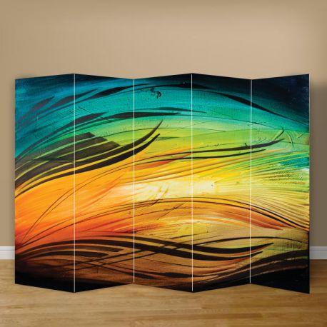 Πολύχρωμα παραβάν με χρώματα