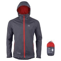 155116295 Highlander Waterproof Packaway Jacket Lightweight Rain Coat for Men Women  and Kids – Light and Breathable Mac that Packs into its own Convenient bag  – The ...