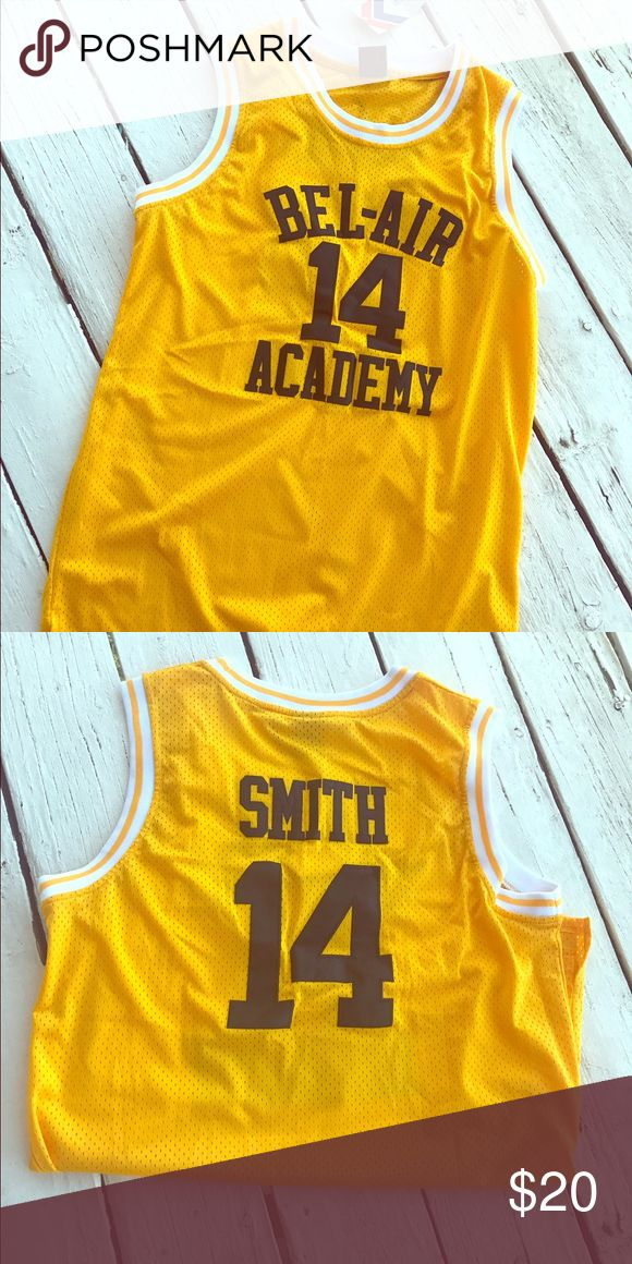 Fresh Prince of Bel Air Basketball Jersey Pay homage to one of the greatest sitcoms of the 90's, The Fresh Prince of Bel Air while wearing this uber cute Fresh Prince Basketball Jersey. This is an unisex shirt, that can be worn as a mini dress or an oversized shirt. Tops
