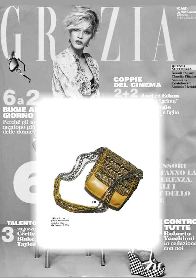 de couture on Grazia Italy