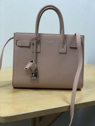 c7b7c68ec3 YSL Classic Baby Sac de Jour Pale Pink Grained Leather. EXCELLENT COND.