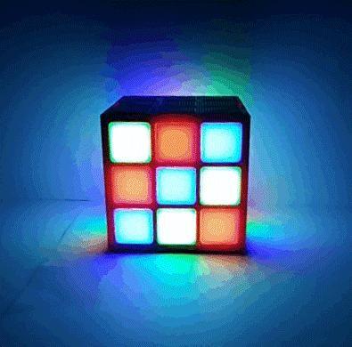 Magic Cube Colorful Bluetooth Speaker