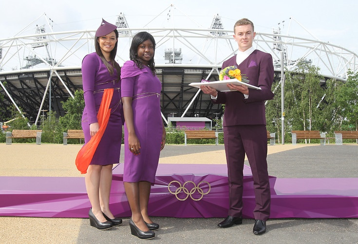 The Podium And Ceremony Outfits For The 2012 Olympics Are Crazy design