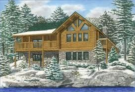 17 best images about log houses on pinterest west coast for Log home designs ontario