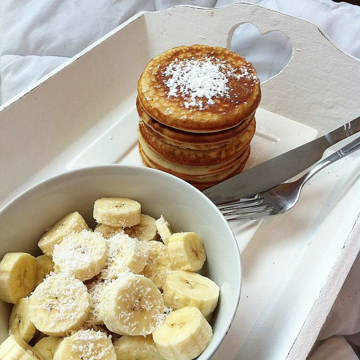 Nothing is better than breakfast in bed.