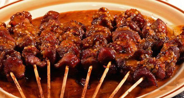 Brochette de Filet de Porc à L'oriental