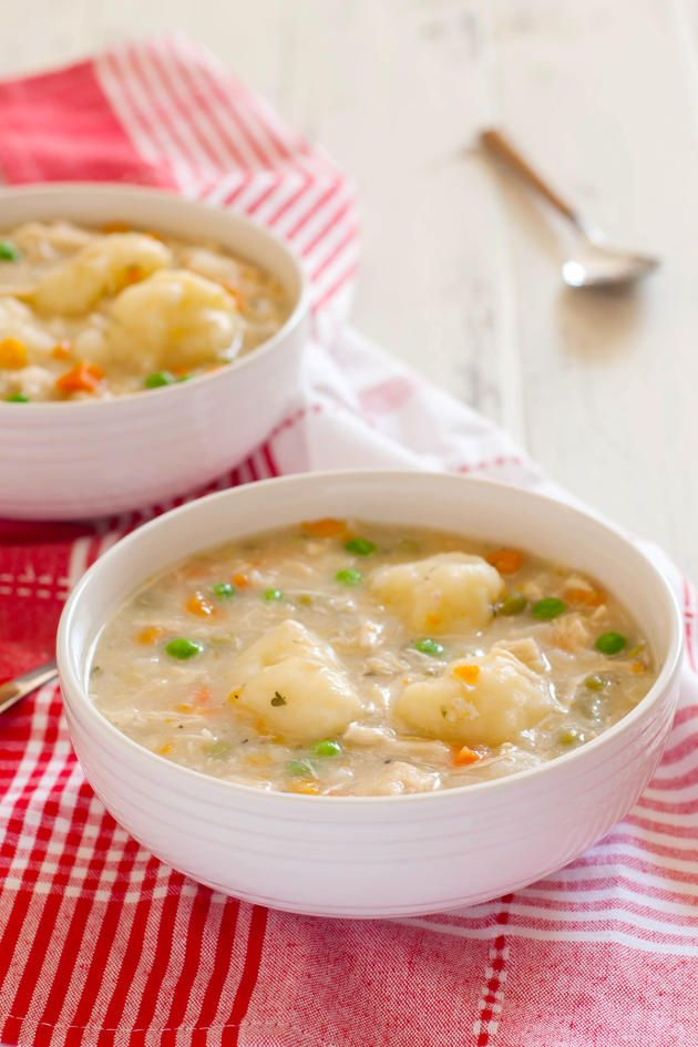 Gluten Free Chicken and Dumplings is exactly what you need to set your day right. A pure bowl of comfort.