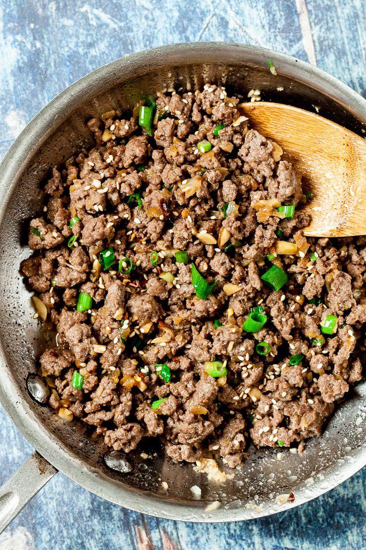 Korean Beef Bowl Recipe Gluten Free Dairy Free Chew Out Loud Recipe Korean Beef Asian Ground Beef Recipes Ground Beef Recipes Easy