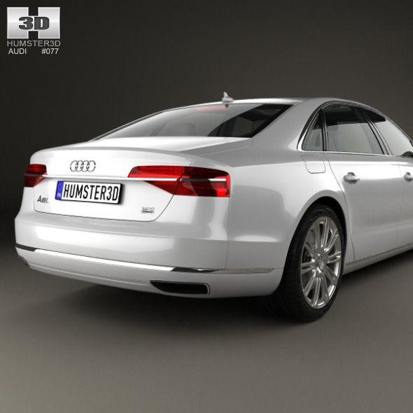 Audi A8 (D4) L 2014 #Audi In 2019