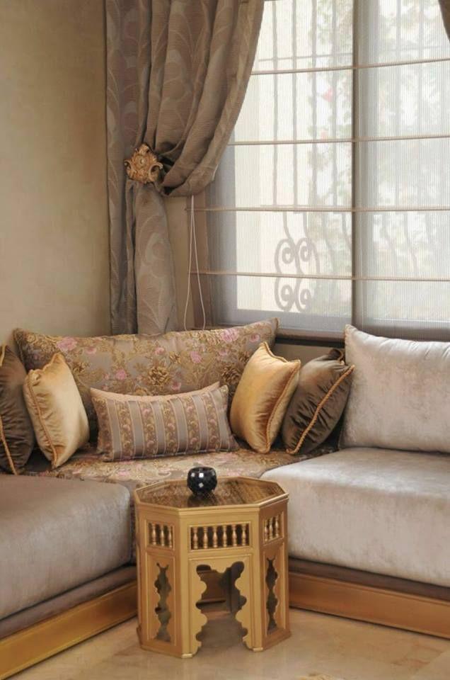 Salon marocain – design salon marocain – Intérieur sur mesure