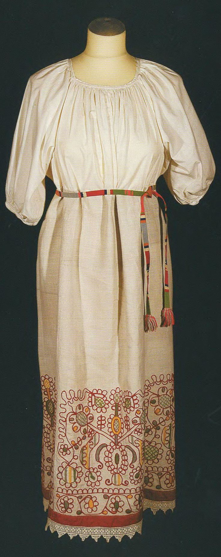 Russian peasant women's national costume