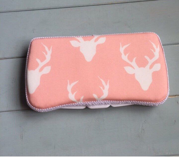 Pink Deer, Wipe Case, Wipes Case, Baby Wipe Case, Travel Wipe Case, Baby Wipes Case, Wipes Holder, Diaper Bag, Baby Wipes Case, Baby Gift by PinchMeBabyBoutique on Etsy https://www.etsy.com/listing/399979787/pink-deer-wipe-case-wipes-case-baby-wipe