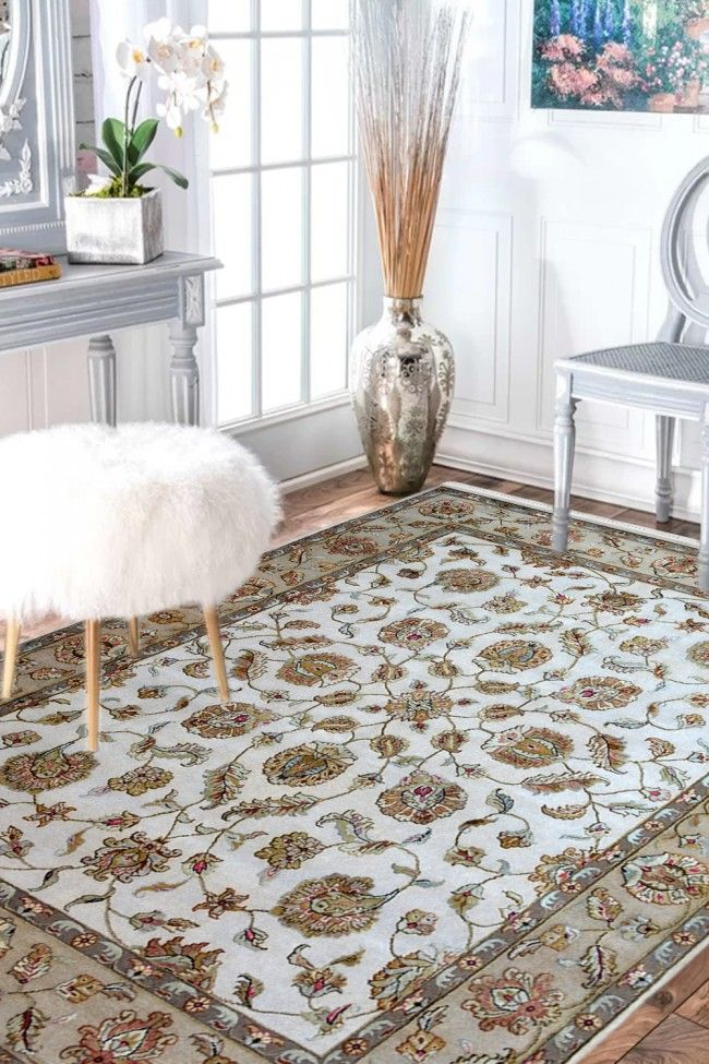 Shop Area Rugs Online Ivory Kashan Cost Wool Carpet At Best Wool Carpet Prices In 2020 Carpet Pricing Shop Area Rugs Contemporary Wool Rugs