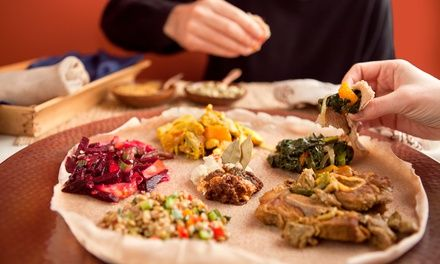 Three-Course Ethiopian Meal with Drinks for Two or Four at Abyssinia Ethiopian Restaurant (Up to 50% Off)