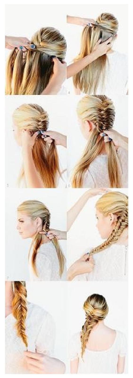 best coiffures images on pinterest cute hairstyles hairstyle