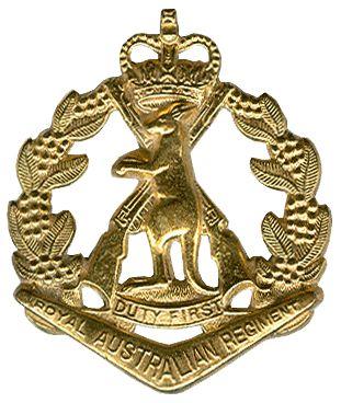 Badge of the Royal Australian Regiment
