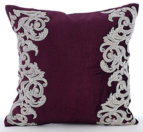 Luxury Plum Decorative Cushions Cover, Beaded Floral Bord... https://www.amazon.co.uk/dp/B016460HNS/ref=cm_sw_r_pi_dp_x_XiDazbRJQXCCY