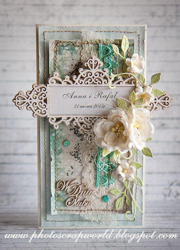 Scrapiniec inspirations он blogspot: Ślubnie и komunijnie/Wedding and First Общности cards