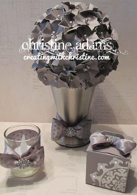 Creating with Christine: Wedding Table Decor