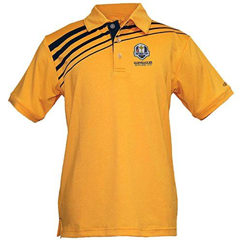 UK Golf Gear - Ryder Cup 2014 Gleneagles Boys Phoenix Golf Polo Shirt
