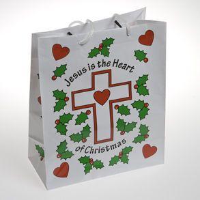 Medium Jesus Christmas Bags
