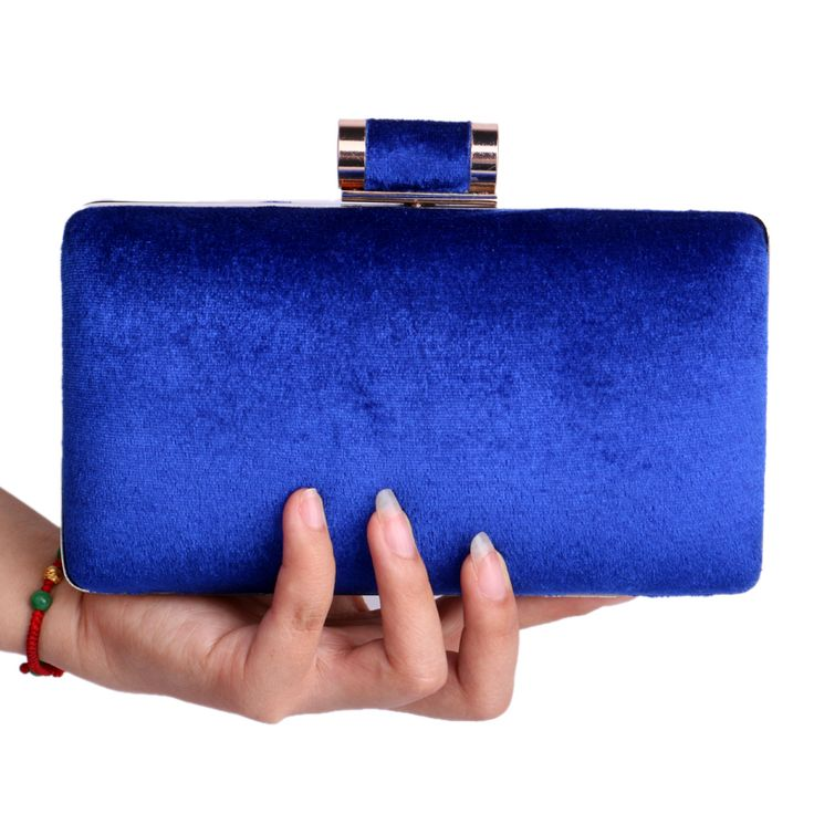 2016 NEW European Fashion Women Clutch Bag Velvet Shoulder Chain Evening Bags Mix 4 Colors Messenger Bag Hard Case Purse Bag-in Evening Bags from Luggage & Bags on Aliexpress.com | Alibaba Group