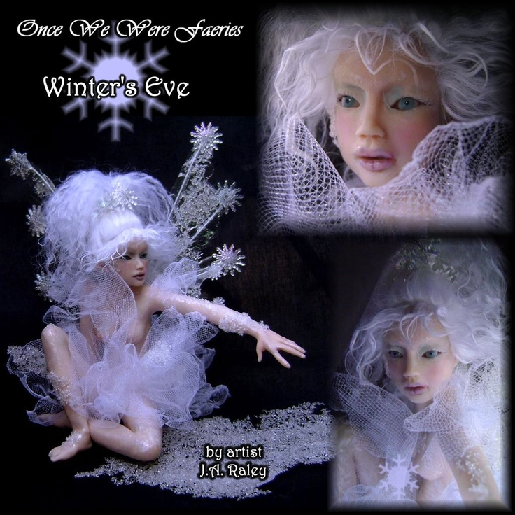 Winter themed Fairy