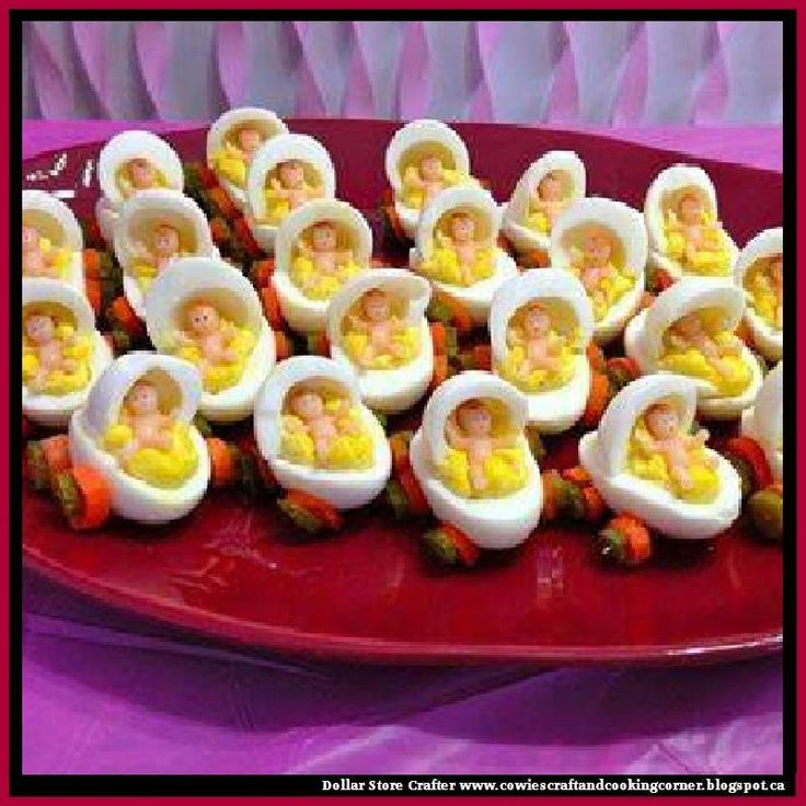 Dollar Store Crafter: How To Make Deviled Egg Baby Carriages