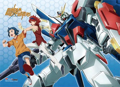 Gundam Build Fighters Wall Scroll - Group @Archonia_US
