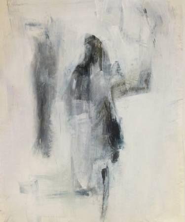 """Saatchi Art Artist Cynthia Gregor; Drawing, """"Shadow friend"""" #art"""