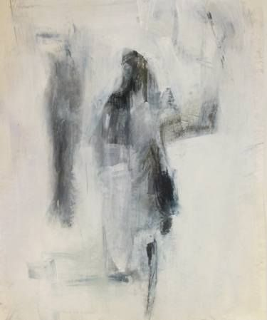 "Saatchi Art Artist Cynthia Gregor; Drawing, ""Shadow friend"" #art"