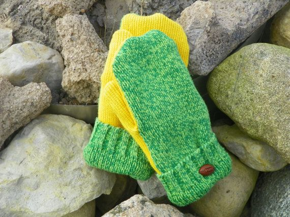 Recycled sweater mittens Toddler mittens by KatesHandiwork on Etsy