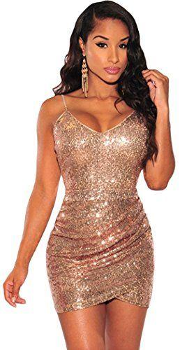 Booty Gal Women's Sexy Rose Gold Sequin Ruched Club Midi ... https://www.amazon.com/dp/B01G8UFGLS/ref=cm_sw_r_pi_dp_LzgKxbYEQZJP4