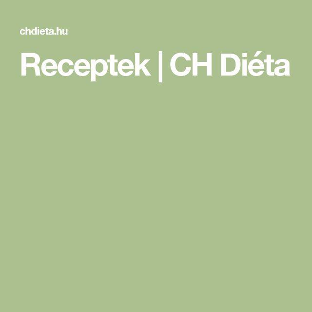 Receptek | CH Diéta
