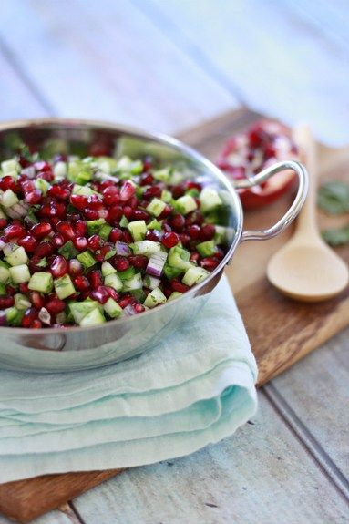 Recipe for Pomegranate Salsa - Winter Salsa