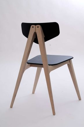Molletta Chair: A Chair Inspired by Wooden Clothespins by Hagar Bar-Gil – Design Milk