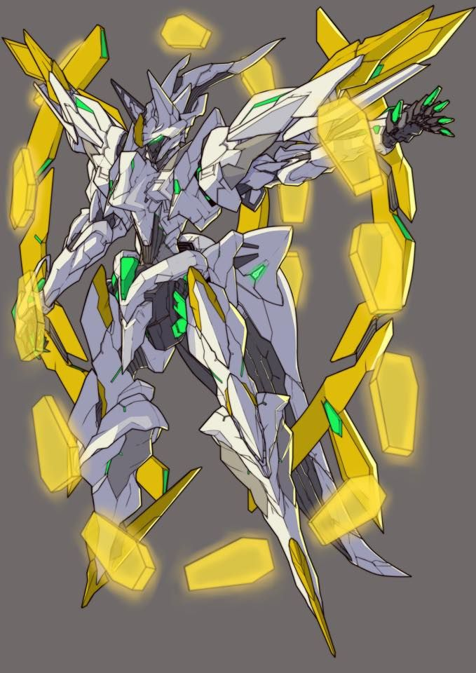 Wingknight Sonichalo Armor Mecha Suit Mecha Anime